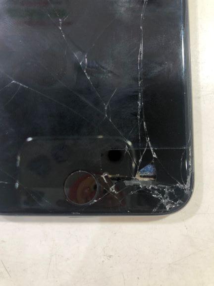 iPhone画面穴修理宮崎