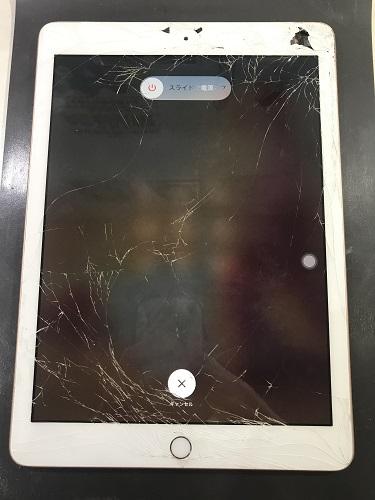 iPad6画面修理前