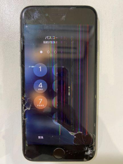 iPhone液漏れ修理宮崎