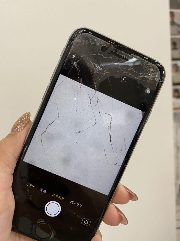 iPhone6sカメラ修理