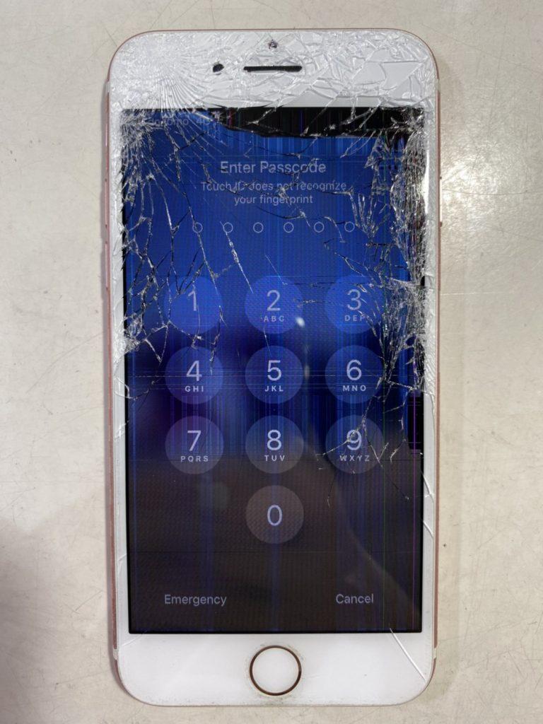 iPhone画面 修理 宮崎