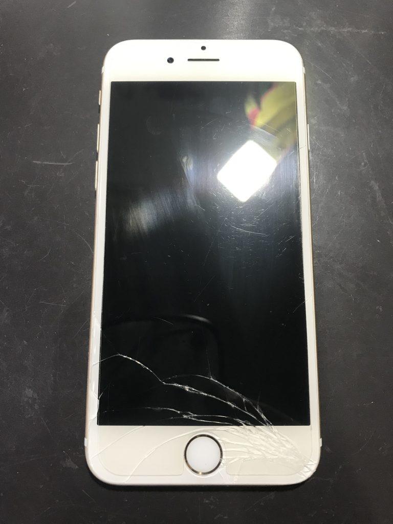 iPhone6液晶交換前
