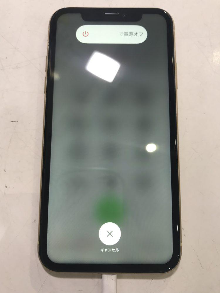 iPhoneXR画面割れ修理後