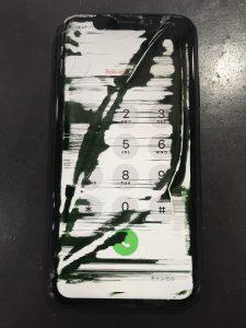 iPhoneXR液晶交換前