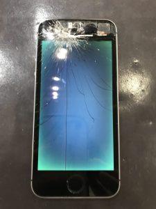 iPhone8液晶修理後