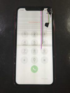 iPhone11画面修理前