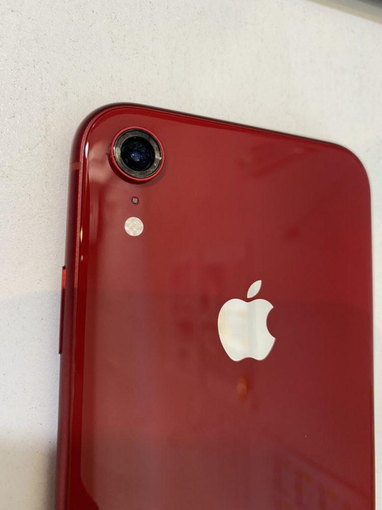 iPhoneXR カメラレンズ修理