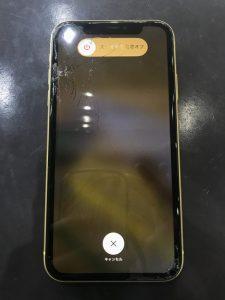 iPhone11画面交換前