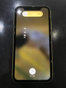 iPhone11画面交換後