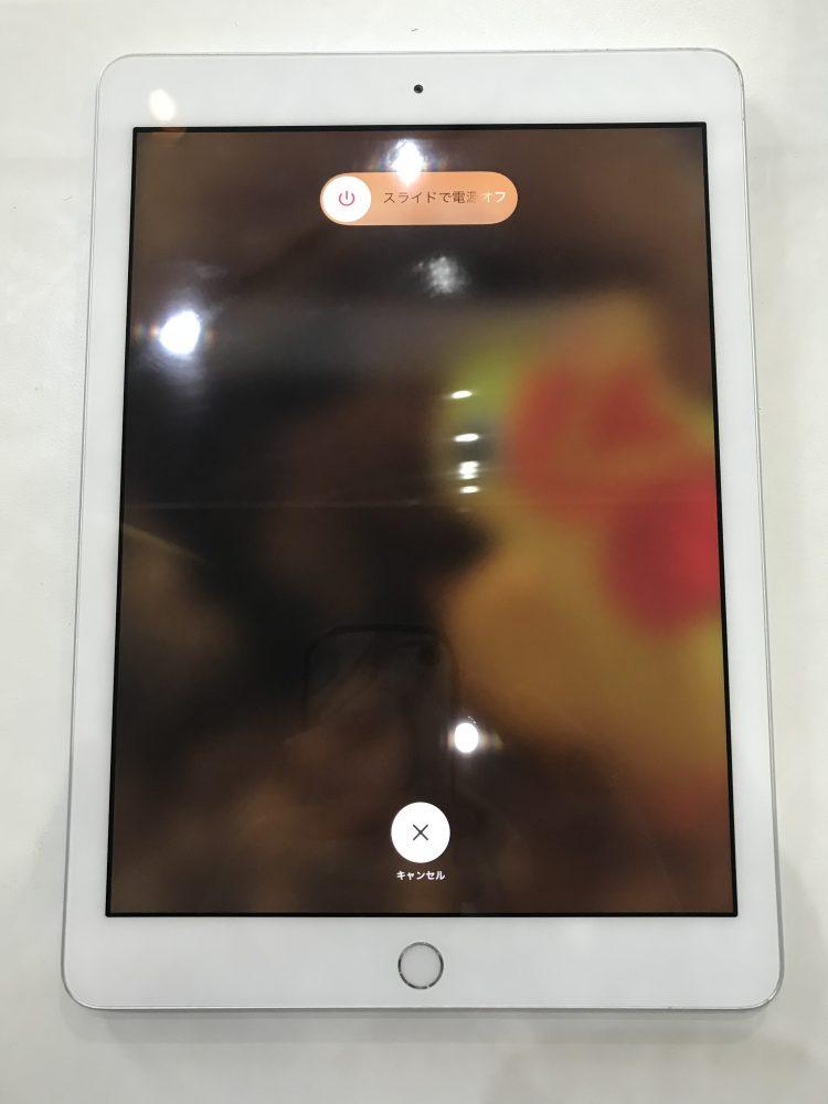 iPad5ガラス交換後