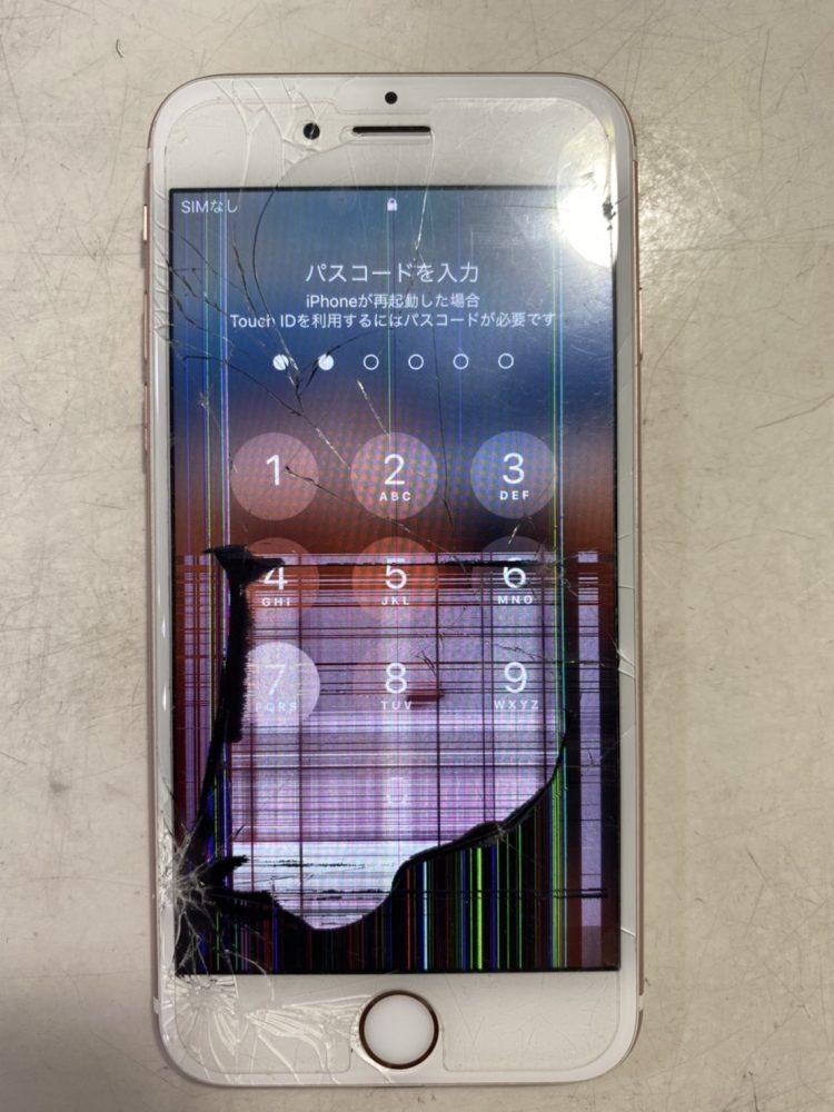 iPhone6s 画面修理 宮崎市