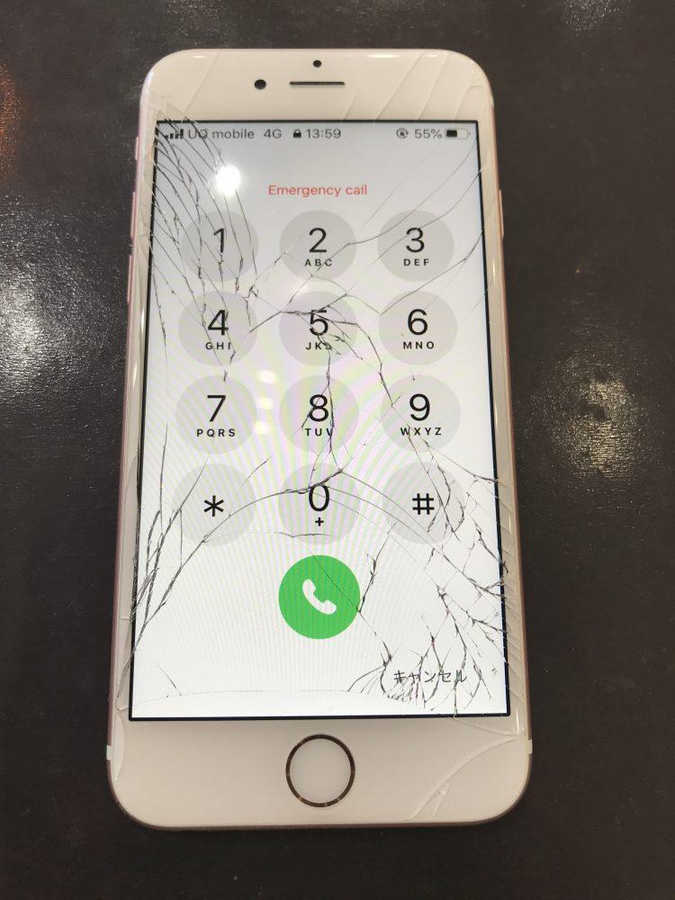 iPhone画面修理前