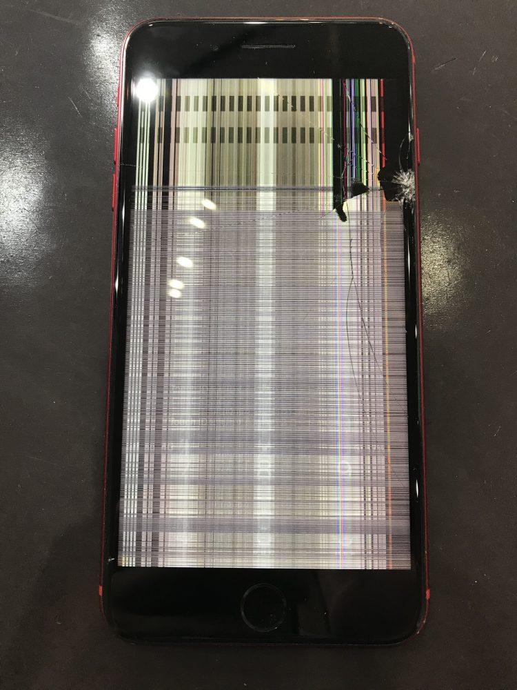 iPhone8Plus液晶修理前