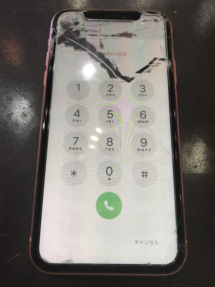 iPhone液晶修理前