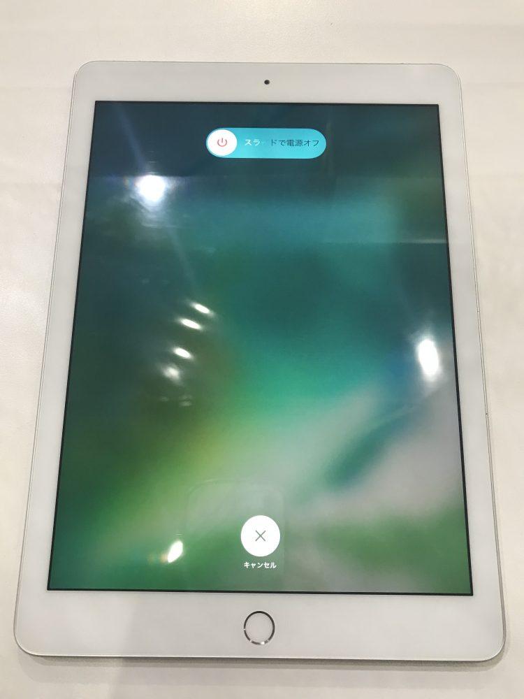 iPadガラス修理後