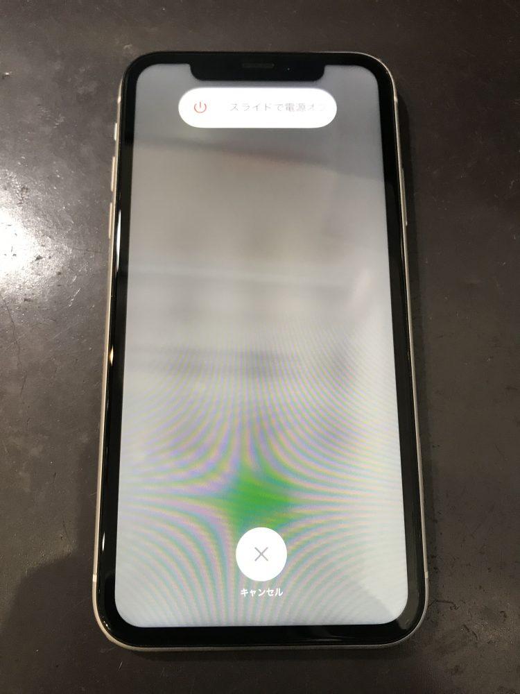 iPhone11液晶交換後