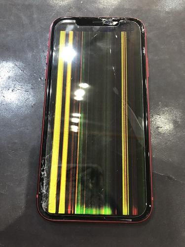 iPhone11液晶修理前