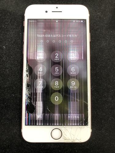iPhone8液晶交換前