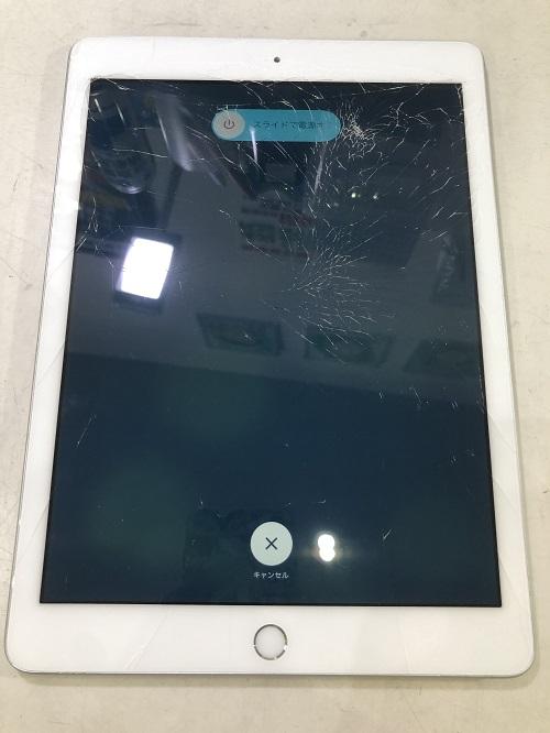 iPad6ガラス交換前