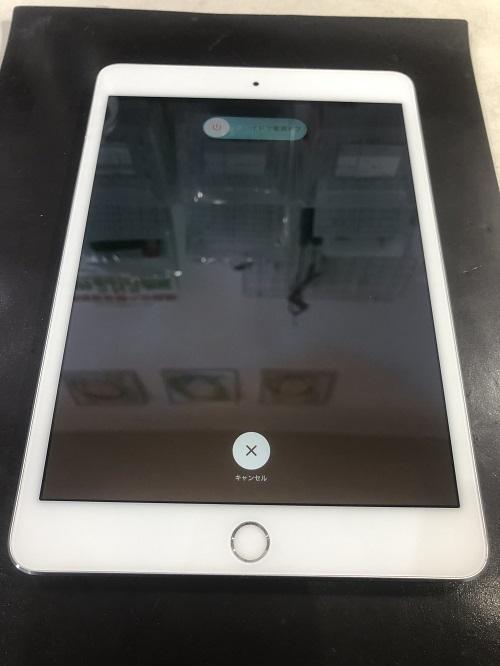 iPad6ガラス修理後