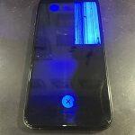 iPhoneXSを落としたら、画面が割れて真っ青に・・・(;゚Д゚)
