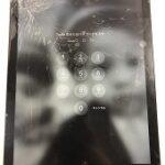 清武町からご来店!iPad6のガラスがバキバキに((+_+))