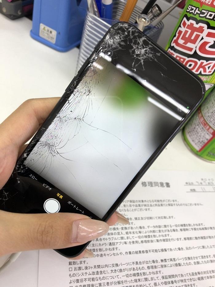 宮崎市 iPhoneカメラ修理